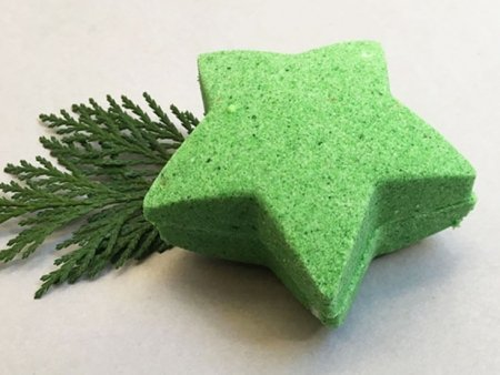 Cedarwood Bath Bomb Star