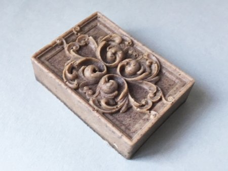 Cinnamon and Coffee Peeling Soap