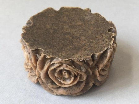 Coffee Soap Rose Design