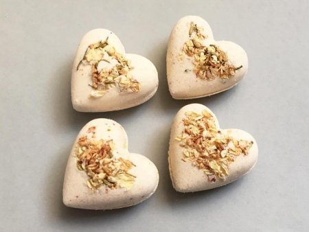 Jasmine Bath Bombs Heart