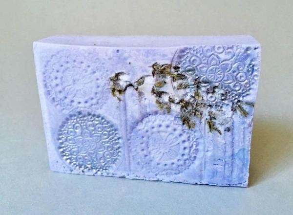 Lavender Soap Mandala Design
