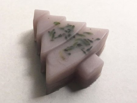 Lavender Soap Christmas Tree Design
