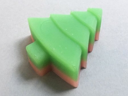 Patchouli Soap Christmas Tree Design