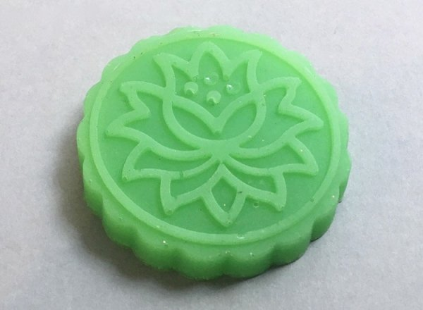 Patchouli Soap Flower Design