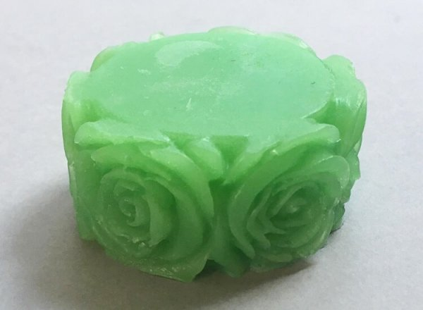 Patchouli Soap Rose Design