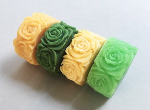 Rose Design Soap Collection