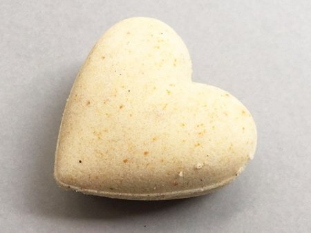 Sandalwood Bath Bomb Heart
