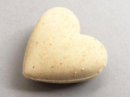 Sandalwood Bath Bomb Heart