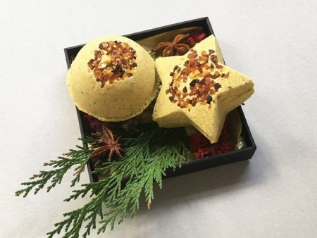 Star and Ball Bath Bomb Set 2