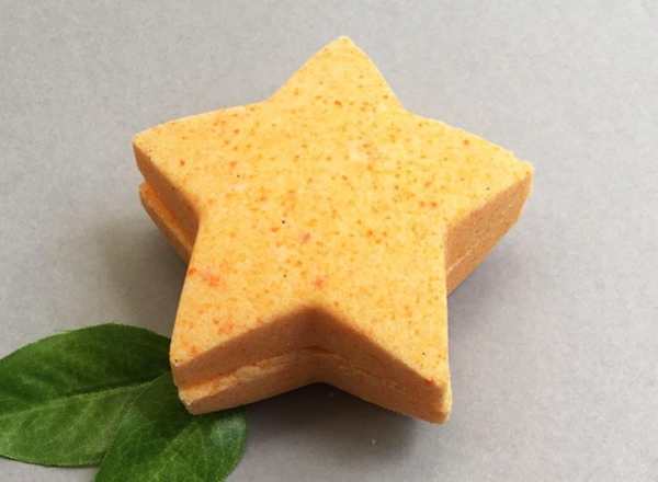 Sweet Orange Bath Bomb Star