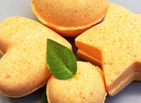 Sweet Orange Bath Bombs