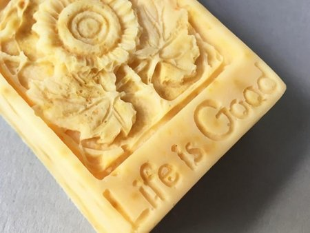 Sweet Orange Soap Life is Good Design