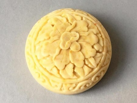 Sweet Orange Soap Lotus Design