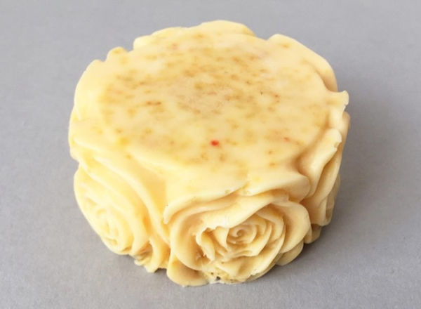 Sweet Orange Soap Rose Design
