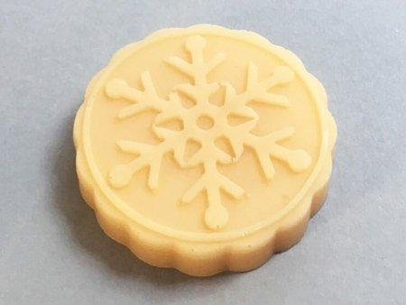 Ylang Ylang Soap Snowflake Design