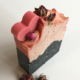 Rose and Activated Charcoal Cold Pressed Soap
