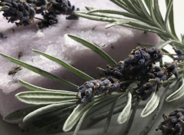 Lavender Body Scrub - Zoom