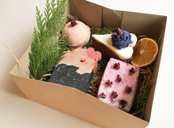 Rose and Magnolia Soap Gift Set