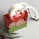 Rose and Rosemary Loofah Cold Pressed Soap